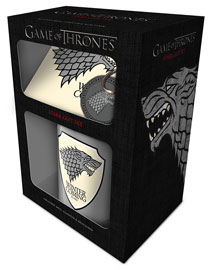 Poster - Geschenk-Set Game of Thrones - Stark