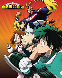 Poster - My Hero Academia Heroes To Action