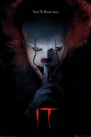 Poster - Stephen King's - ES Pennywise - Hush