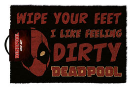 Poster - Fußmatte Kokos Deadpool - Dirty