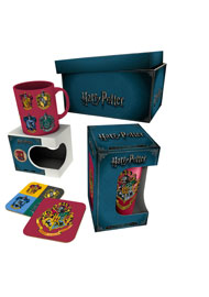 Poster - Geschenk-Set Harry Potter - Crests