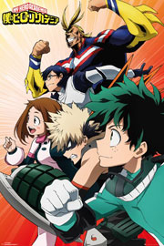 Poster - My Hero Academia Heroes Collage