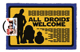 Poster - Fußmatte Kokos Star Wars - All Droids Welcome