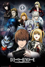 Poster - Death Note Collage