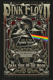 Poster - Pink Floyd Rainbow Theatre