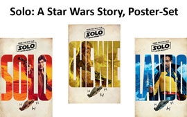 Poster - Solo: A Star Wars Story
