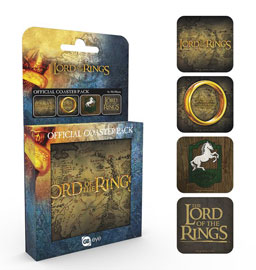 Poster - Untersetzer-Set Lord Of The Rings - Mix