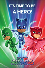 Poster - PJ Masks Pyjamahelden - Be a Hero