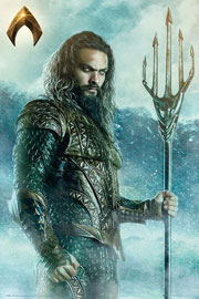 Poster - Justice League Aquaman - Trident