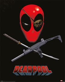 Poster - Deadpool Eye Patch