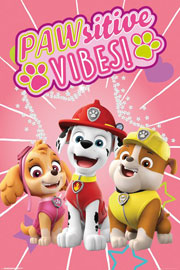 Poster - Paw Patrol Pawsitive Vibes