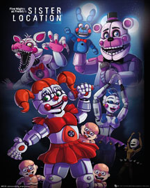 Poster - Five Nights at Freddy's