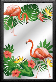 Poster - Tiere Flamingos