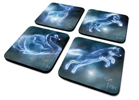 Poster - Untersetzer-Set Harry Potter - Patronus