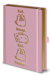 Poster - Pusheen Eat, Sleep, Repeat