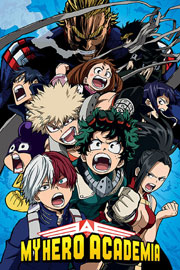 Poster - My Hero Academia Cobalt Blast Group
