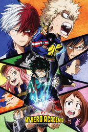 Poster - My Hero Academia Characters Mosaic