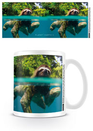 Poster - Faultier Sloth Swimming