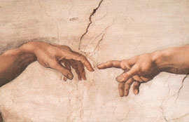 Michelangelo Creation of Adam