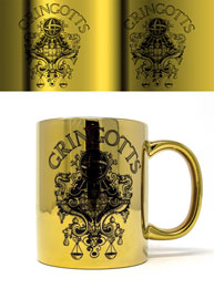 Metallic Tasse Harry Potter - Gringotts