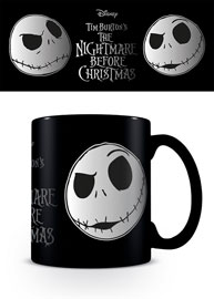 Poster - Metallic Tasse Nightmare Before Christmas - Jack Face
