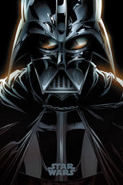 Poster - Star Wars Darth Vader - Comic