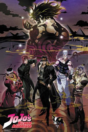 Poster - Jojo's Bizarre Adventure Group