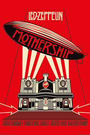 Led Zeppelin Mothership Red