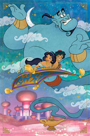 Poster - Aladdin Whole New World