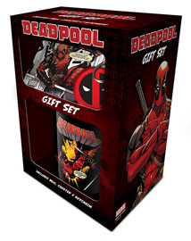Poster - Geschenk-Set Deadpool - Action