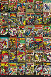 Poster - Marvel Comics - Classic Covers