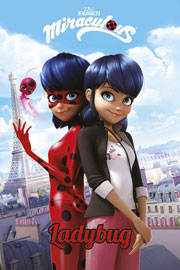 Poster - Miraculous Paris - Marinette