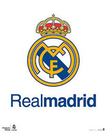 Poster - Fußball Real Madrid - Club Logo