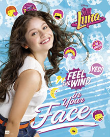 Poster - Soy Luna Feel The Wind