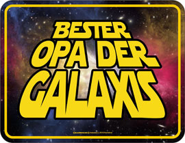 Poster - Bester Opa
