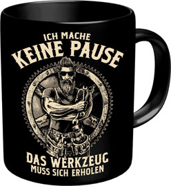 Poster - Keine Pause