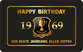 60 Jahre Happy Birthday