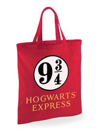 Poster - Shopper Tasche Harry Potter - Gleis 9 3/4