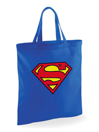 Poster - Shopper Tasche Superman