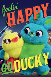 Poster - Toy Story 4 - Happy-Go-Ducky