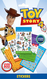 Poster - 800 Sticker Set Toy Story - 4 - Characters