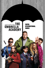 Poster - Umbrella Academy, The Dysfunctional Family