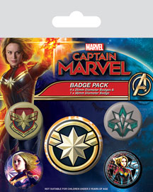Poster - Marvel Captain Marvel - Patches