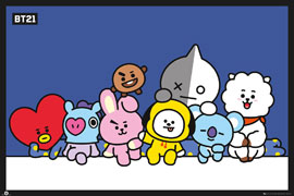 Poster - BT21 Group