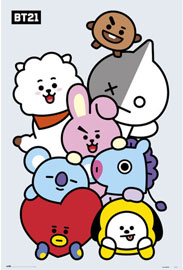 Poster - BT21 Character