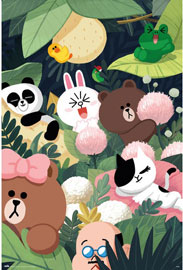 Poster - Line Friends