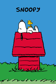 Poster - Snoopy Doghouse