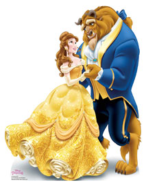Poster - Disney Belle and Beast