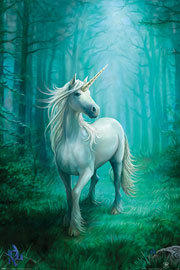 Poster - Stokes, Anne Forest Unicorn