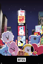 Poster - BT21 Times Square